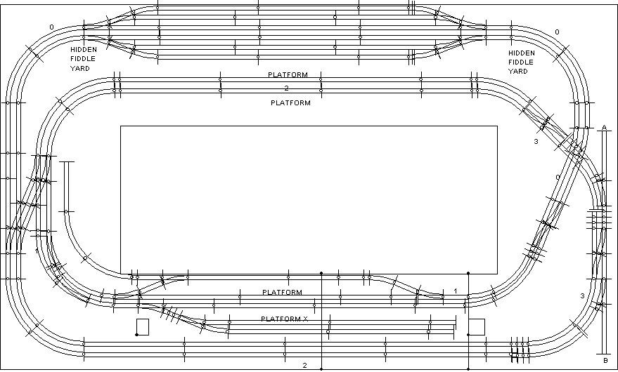 Nice Hornby Track Templates Festooning - Professional Resume ...